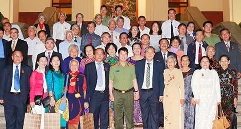 Thứ trưởng Bùi Văn Nam tiếp Đoàn đại biểu cựu cán bộ Điệp báo An ninh T4
