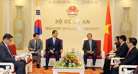 Việt Nam – Hàn Quốc tăng cường hợp tác phòng, chống tội phạm