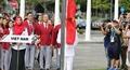 Khoảnh khắc quốc kỳ Việt Nam tung bay tại SEA Games 29