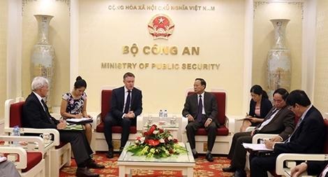 Việt Nam - UNODC tăng cường hợp tác phòng, chống tội phạm