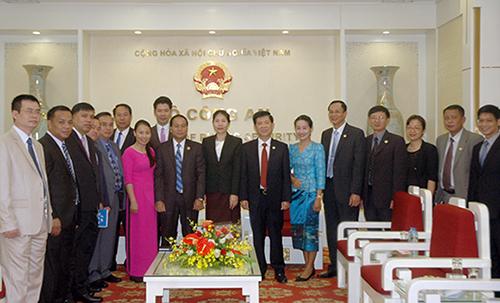 Thứ trưởng Nguyễn Văn Sơn tiếp đoàn đại biểu Bộ An ninh Lào - Ảnh minh hoạ 2