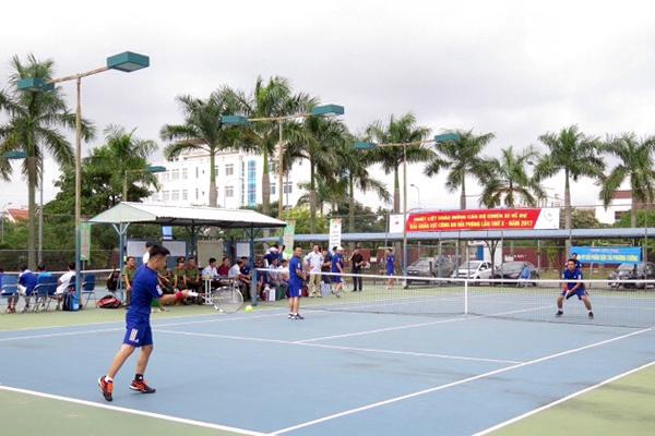 Công an thành phố Hải Phòng khai mạc giải quần vợt lần thứ 10 - Ảnh minh hoạ 3