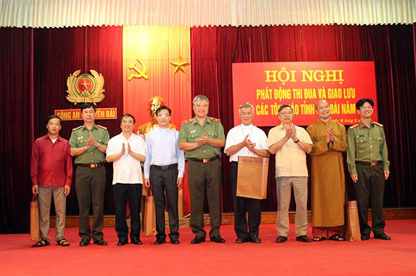 Phát động thi đua và giao lưu giữa các tôn giáo tỉnh Yên Bái