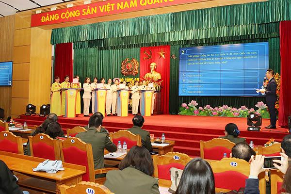Hội thi tuyên truyền Nghị quyết Đại hội đại biểu Phụ nữ toàn quốc lần thứ XII