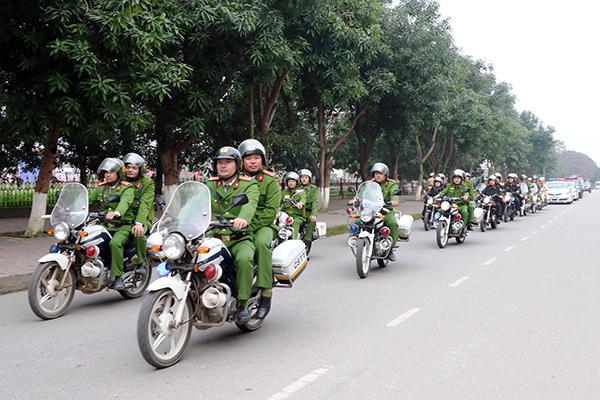 Tỉnhă Hà Tĩnh mở đợt cao điểm tấn công trấn áp tội phạm