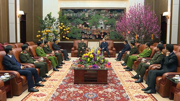 Bộ trưởng Tô Lâm thăm và làm việc tại Hưng Yên
