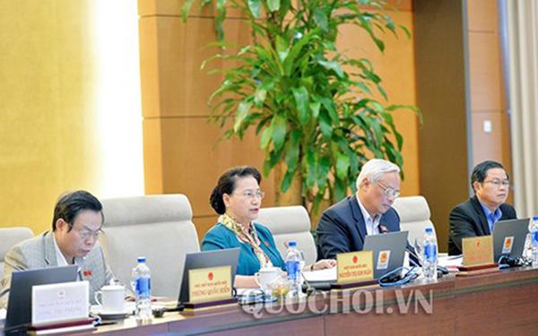 Chủ tịch Quốc hội Nguyễn Thị Kim Ngân góp ý khi xây dựng 3 đặc khu kinh tế
