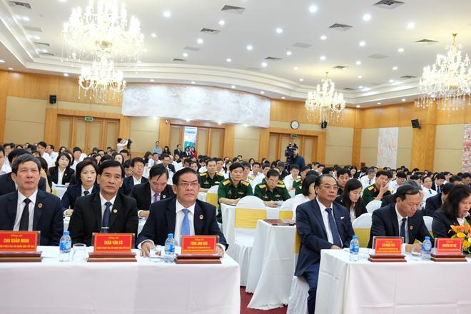 Các đại biểu ngành Toà án dự hội nghị toàn quốc về công tác tổ chức cán bộ năm 2018