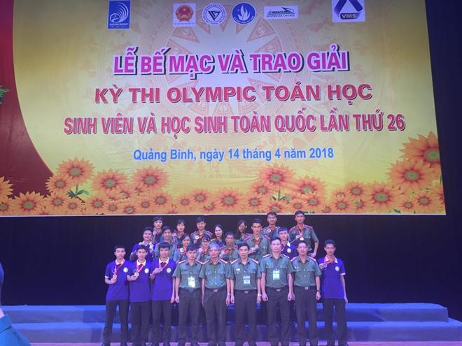 Học viện ANND giành ngôi á quân Kỳ thi Olympic Toán học sinh viên - Ảnh minh hoạ 3