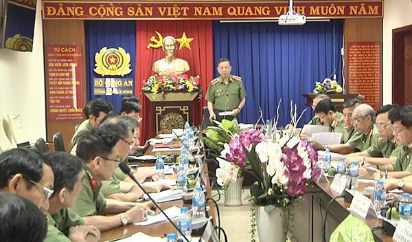 Bộ trưởng Tô Lâm chỉ đạo công tác đảm bảo  ANTT tại các tỉnh phía Nam - Ảnh minh hoạ 2