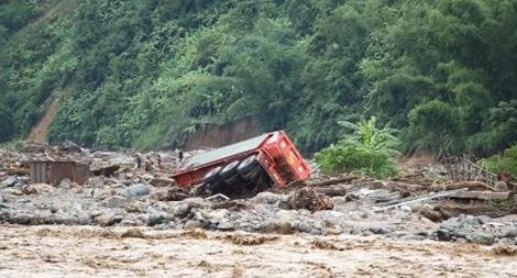 Hà Nội hỗ trợ 245 triệu đồng cho các tỉnh Tây Bắc thiệt hại do mưa lũ