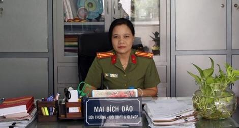 Nữ đội trưởng phong trào tận tụy
