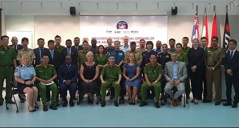 Khai giảng khóa đào tào ARLEMP 47 về phòng, chống ma tuý xuyên quốc gia
