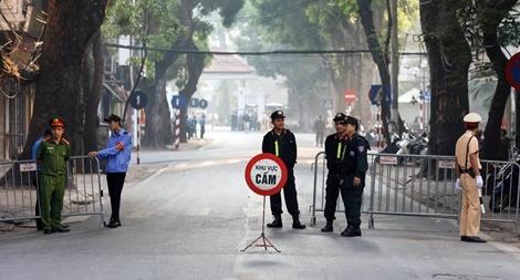 Công an Hà Nội đảm bảo an ninh Quốc tang đồng chí Đỗ Mười