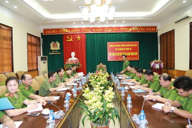 Thứ trưởng Nguyễn Văn Sơn thăm, làm việc với Trại giam Thanh Xuân và Trại tạm giam T16 - Ảnh minh hoạ 2