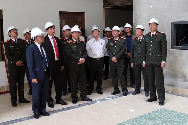 Thứ trưởng Bùi Văn Nam kiểm tra công tác tại Công an tỉnh Sơn La - Ảnh minh hoạ 2