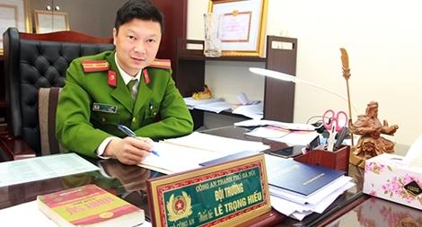 Đội trưởng hình sự được đề cử Gương mặt trẻ Việt Nam tiêu biểu