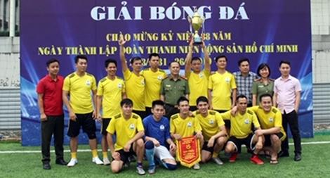 Viện Khoa học và Công nghệ vô địch Giải bóng đá mini Cụm thi đua số 8