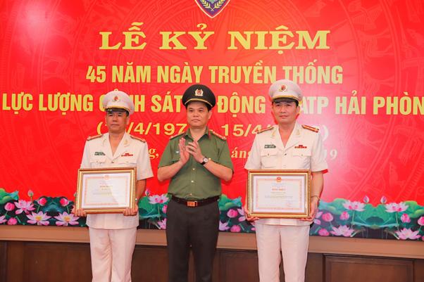 Công an TP Hải Phòng kỷ niệm 45 năm Ngày truyền thống lực lượng Cảnh sát cơ động - Ảnh minh hoạ 3