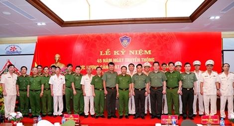 Công an TP Hải Phòng kỷ niệm 45 năm Ngày truyền thống lực lượng Cảnh sát cơ động