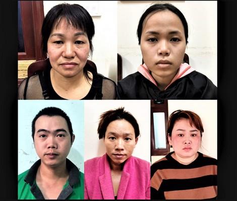 Nhóm đối tượng buôn trẻ em từ Nam ra Bắc bị bắt giữ.