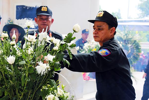 Bộ Tư lệnh CSCĐ tri ân các Anh hùng liệt sĩ tại Nghệ An, Hà Tĩnh