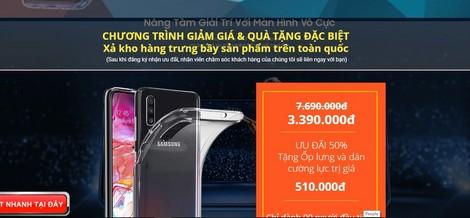 Một số trang Fanpage trên mạng xã hội Facebook mạo danh các sàn thương mại điện tử lớn để quảng cáo.