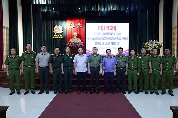 Công an Nam Định khen thưởng 5 tập thể, 26 cá nhân có thành tích xuất sắc - Ảnh minh hoạ 4