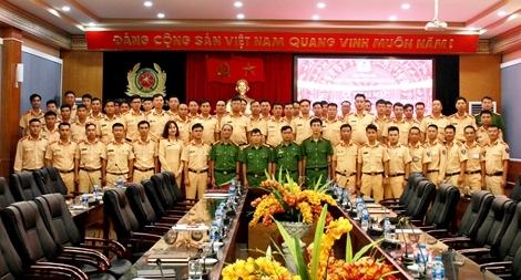 Bồi dưỡng nghiệp vụ theo kinh nghiệm quốc tế cho lực lượng CSGT
