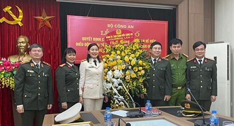 Nữ Đại biểu Quốc hội giữ chức vụ Phó Cục trưởng của Bộ Công an
