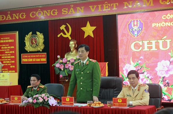 Thứ trưởng Nguyễn Duy Ngọc kiểm tra công tác ứng trực của CSGT Thủ đô - Ảnh minh hoạ 2