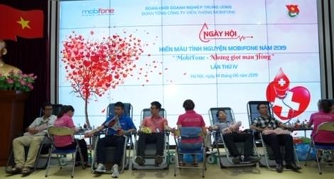 MobiFone phát động hiến máu khắc phục tình trạng thiếu máu điều trị