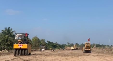 Nỗ lực đảm bảo an ninh an toàn ở dự án cao tốc Trung Lương - Mỹ Thuận