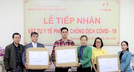 Quỹ thiện tâm Vingroup tặng 140.000 chiếc khẩu trang cho người dân 7 tỉnh biên giới