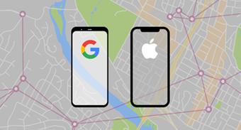 Apple bắt tay Google phát triển công nghệ theo dõi người nhiễm COVID-19