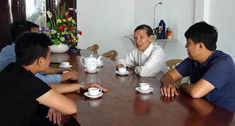 Chuẩn giáo xứ Thanh Hà cảm ơn lực lượng Công an