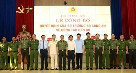 Công bố Quyết định bổ nhiệm Giám đốc Công an tỉnh Quảng Ninh