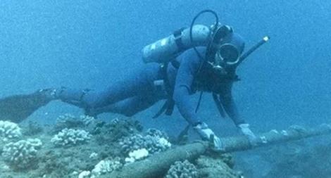 Lỗi cũ chưa sửa xong, cáp quang biển AAG lại tiếp tục đứt