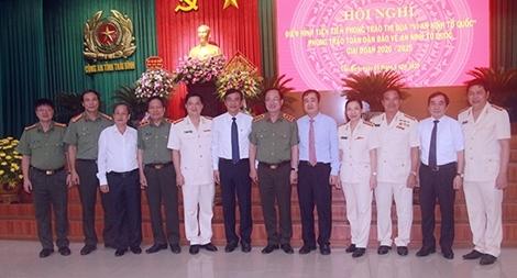 Công an tỉnh Thái Bình: Gần 8.600 lượt tập thể, cá nhân nêu gương sáng, lập công xuất sắc