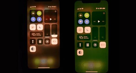 Màn hình iPhone chuyển màu lạ làm người dùng khó chịu