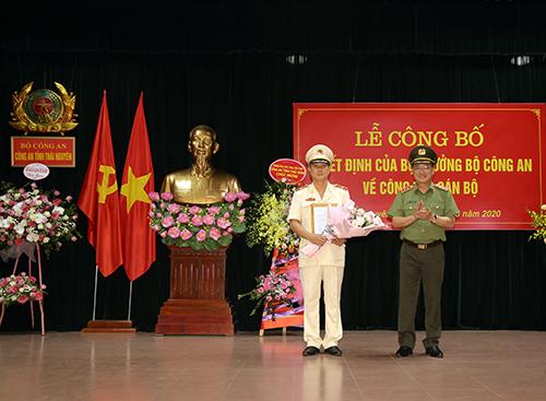 Đại tá Bùi Đức Hải giữ chức vụ Giám đốc Công an tỉnh Thái Nguyên