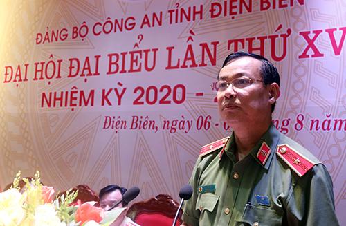 Quán triệt Nghị quyết Đảng bộ CA Điện Biên đến từng Đảng bộ, chi bộ