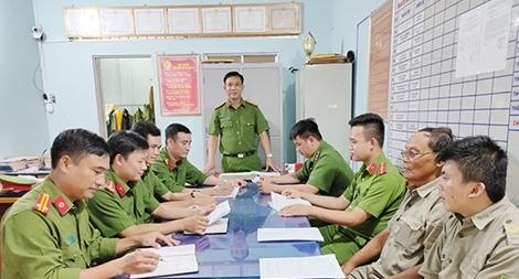 Trưởng Công an thị trấn với nhiều thành tích phá án
