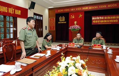 Phối hợp đẩy mạnh công tác tuyên truyền giữa Báo CAND và Công an tỉnh Yên Bái - Ảnh minh hoạ 5
