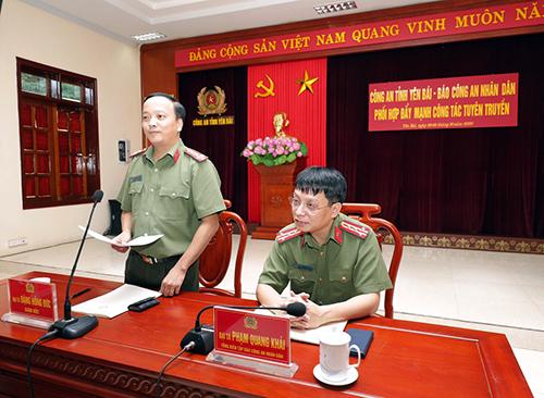 Phối hợp đẩy mạnh công tác tuyên truyền giữa Báo CAND và Công an tỉnh Yên Bái - Ảnh minh hoạ 3