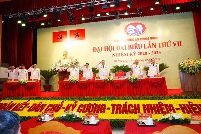 Hôm nay, khai mạc Đại hội đại biểu Đảng bộ Công an Trung ương lần thứ VII