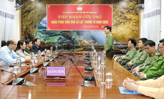 Bộ Công an hỗ trợ 3 tỷ đồng cho CBCS và nhân dân vùng lũ Quảng Bình - Ảnh minh hoạ 4
