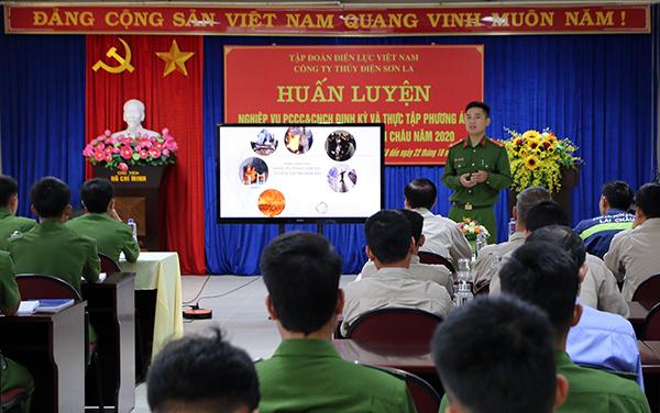 Diễn tập phương án chữa cháy, cứu nạn, cứu hộ tại Nhà máy thủy điện Lai Châu - Ảnh minh hoạ 2
