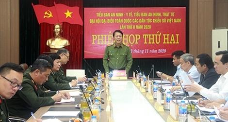 Bảo đảm an ninh, an toàn ĐHĐB toàn quốc các dân tộc thiểu số Việt Nam