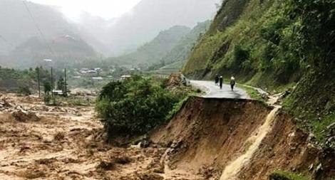 Trung Bộ - Tây Nguyên mưa to, cảnh báo lũ quét sạt lở đất nhiều nơi